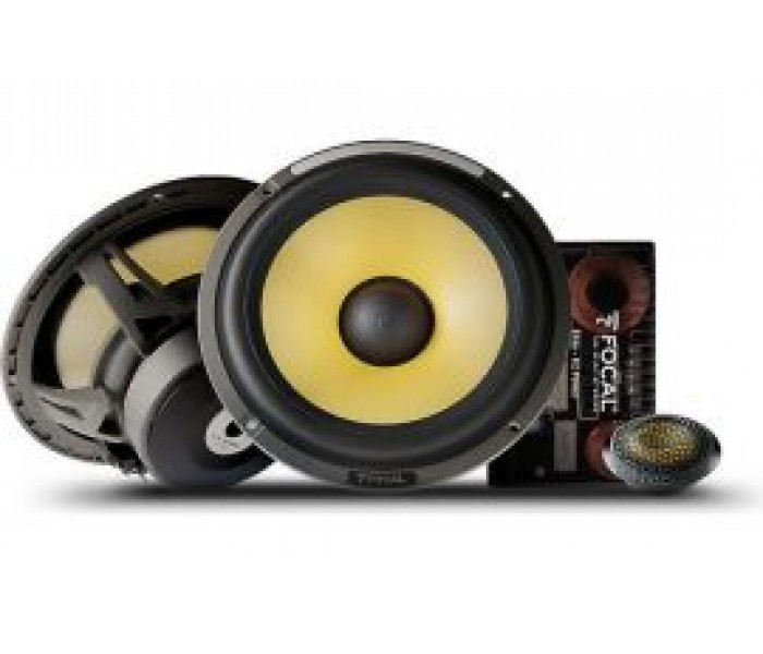 "Focal ES165K - Elite K2 Power Series 6-3/4"" 16.5cm Component Speakers"