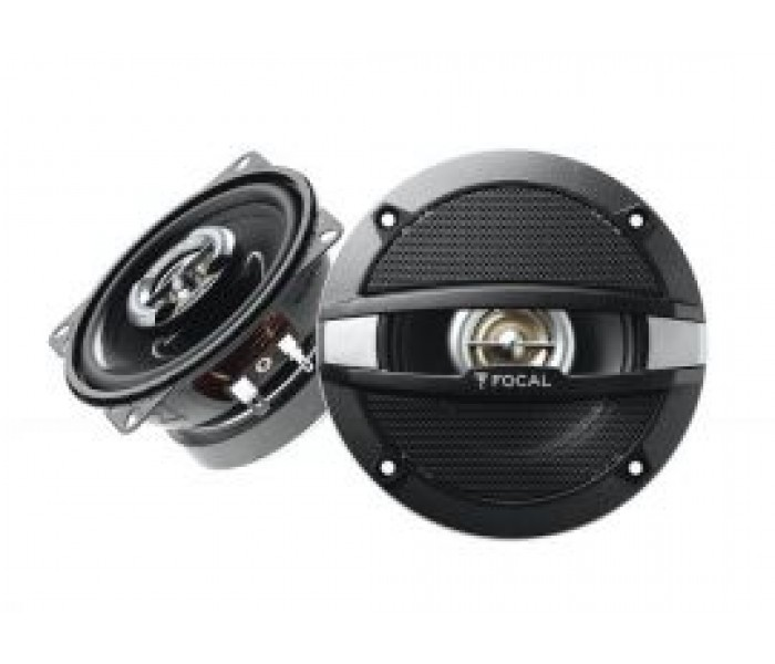 "Focal R-100C - 4"" 10cm 2 Way Car Coaxial Van Door Dash Speakers 120W"