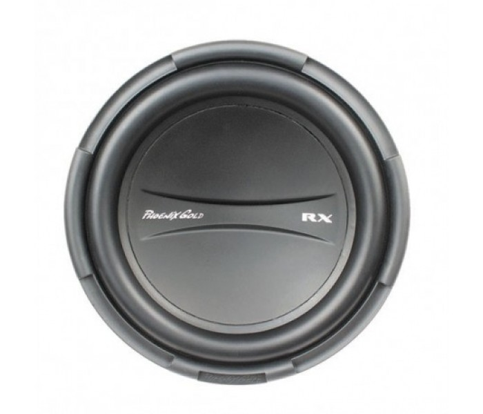 "Phoenix Gold RX Series 12"" Single Coil 4-ohm Subwoofer"