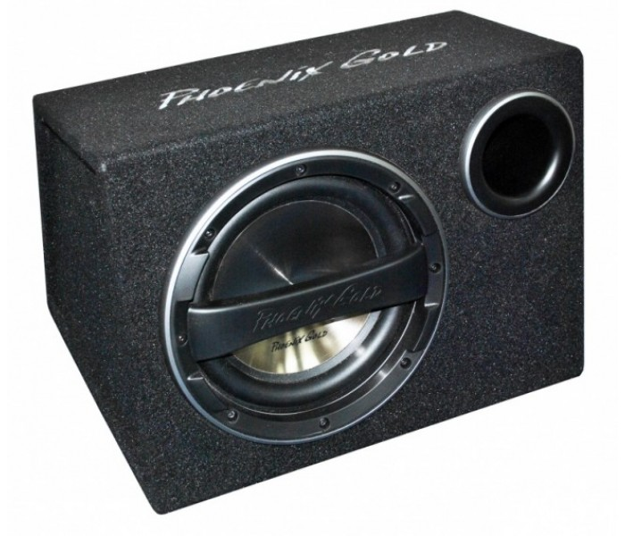 """Phoenix Gold Z Series Z10"""" 320W Active subwoofer bass-box with built in amp"""
