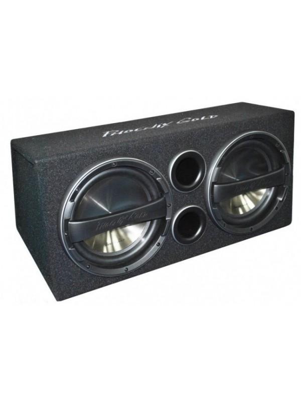phoenix gold z series twin 12 u0026quot  active subwoofer bass box