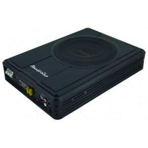 """Phoenix Gold Z8150 Underseat Active 8"""" subwoofer bass-box with built in amp"""