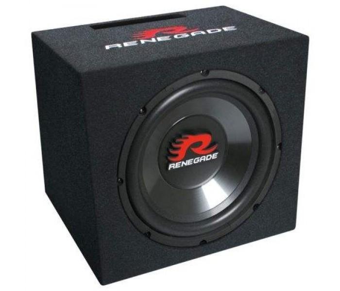 "Renegade RXV-1200 12"" Bass Speaker Single-Bassreflex-System"