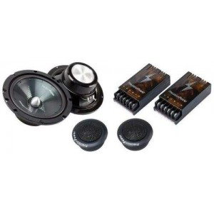 "Precision Power S2.65C 6.5"" component car speakers 200w"