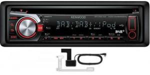 Kenwood KDC-DAB4551U Car radio DAB iPod AUX +DAB aerial