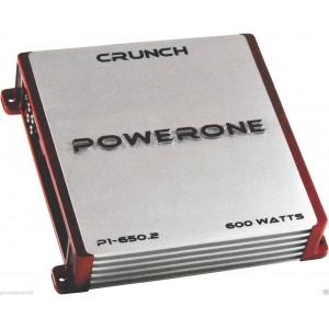CRUNCH P1-650.2 2-CHANNEL 600W CLASS A/B POWERONE SERIES