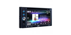 JVC KW-AVX640 double din multimedia system full ipod control