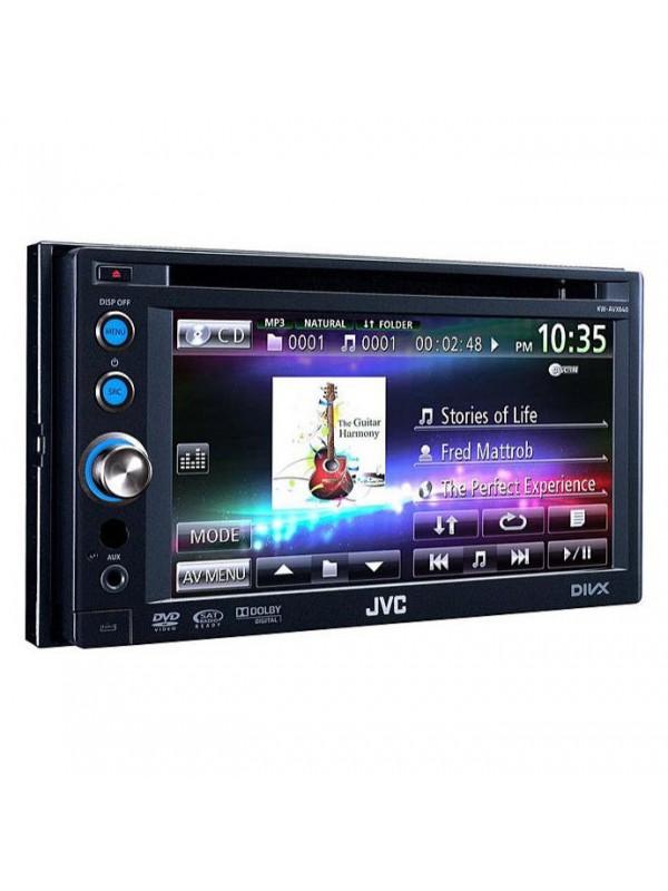 Jvc kw-avx640 double-din multimedia receiver youtube.