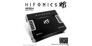 HIFONICS HFI155.4 440W AB Class 4 CH Four Channel