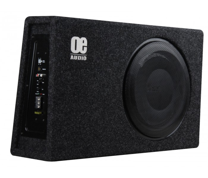 OE AUDIO OE112SA High Quality Shallow mount Sub woofer built in AMP