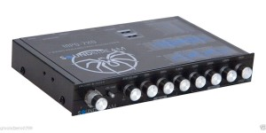 Soundstream MPQ-7XO 1/2 DIN Dual input Multi-Band Graphic EQ