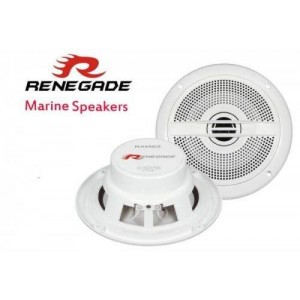 Renegade RXM52 MARINE & OUTDOOR Speakers Coaxial Speakers RXM-52 120w pair