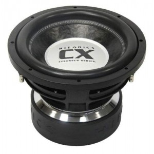 HIFONICS CX12D2 4000w COLOSSUS Series Subwoofer