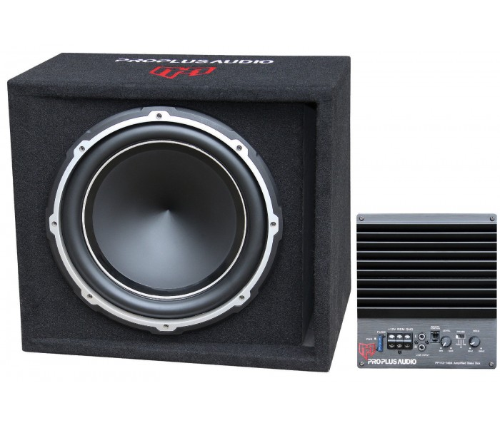 Pro Plus Audio PP112-149A 12inch Subwoofer built in Amplifier