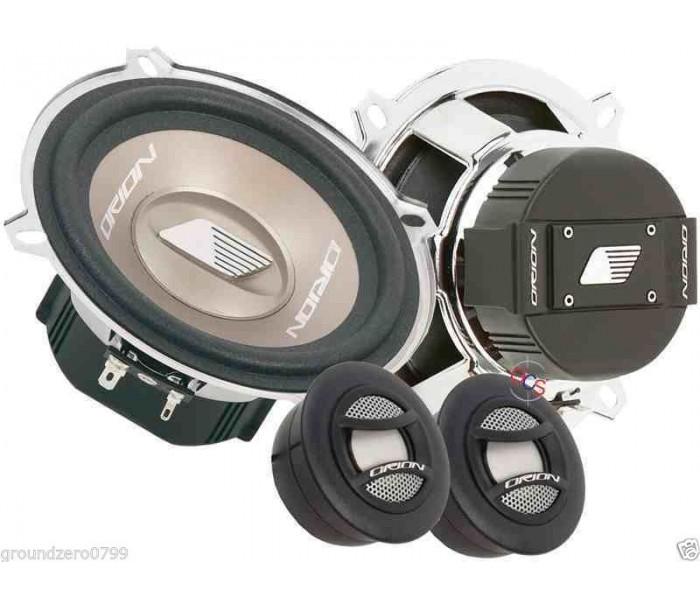 orion 5 25 u0026quot  component speakers 80 watts