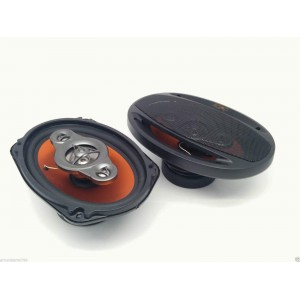 Juice JS695 4way Coaxial Efficient Performance 6x9 Speakers