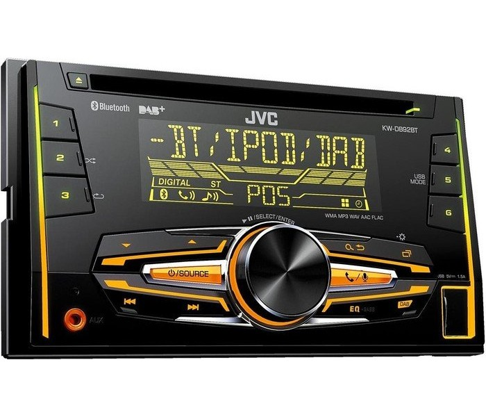 JVC KW-DB92BT - Double DIN DAB/CD/MP3/USB With Bluetooth