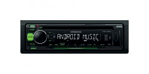 Kenwood KDC-100UG - CD/MP3, Front USB, Front AUX