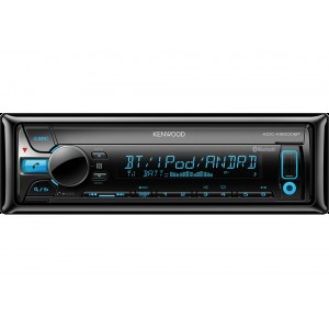Kenwood KDC-X5000BT - CD/MP3/USB/iPOD Car Stereo with Bluetooth