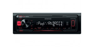 Kenwood KMM-202 - Mechless USB Tuner with iPod/iPhone Direct Control
