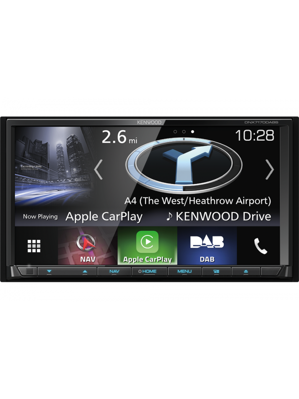 kenwood dnx7170dabs built in navagation dab apple carplay. Black Bedroom Furniture Sets. Home Design Ideas