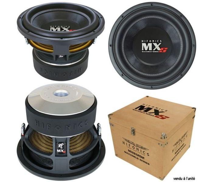 Hifonics Maxximus MXS12D2 3,000 watts Quaity Subwoofer