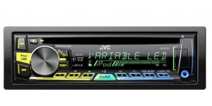 JVC KD-R761 - CD/MP3/USB Car Tuner with Direct iPod/iPhone With Variable Colour Display