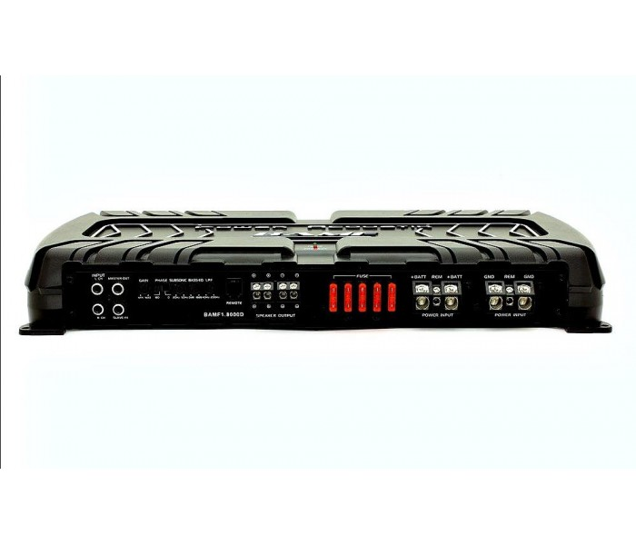 Power Acoustik BAMF1-8000D 8,000W Monoblock Amp