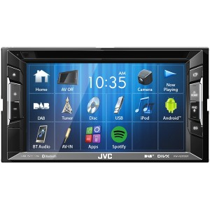 "JVC KW-V235DBT - 6.2"" Screen CD DVD Bluetooth DAB Stereo USB iPhone"