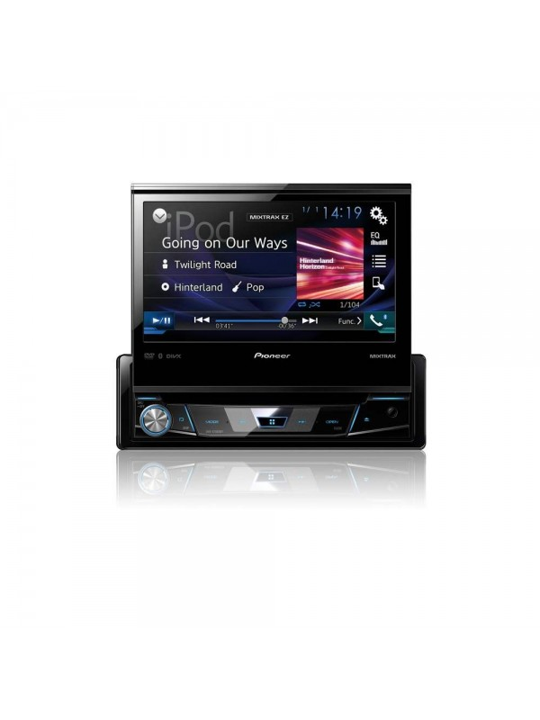 pioneer avh x7800bt 1 din 7 flip out multimedia player. Black Bedroom Furniture Sets. Home Design Ideas