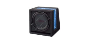 "Alpine SBG-1244BR 800W 12"" Bass Reflex Subwoofer In Custom Enclosure"