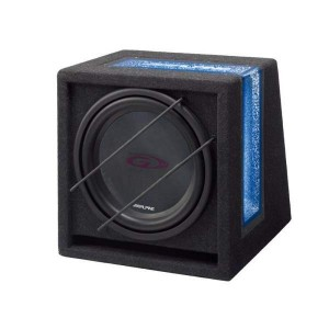 "Alpine SBG-1044BR 10"" 500W Band Pass Subwoofer"