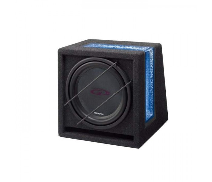 "Alpine SBG-1244BP 800W 12"" Bandpass Subwoofer In Custom Enclosure"