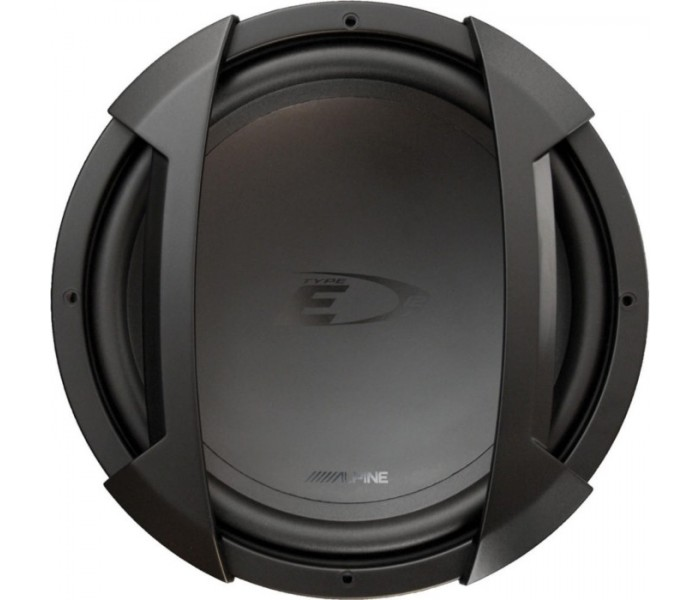"Alpine SWE-1244E 650W 12"" single 4Ω VC Subwoofer"
