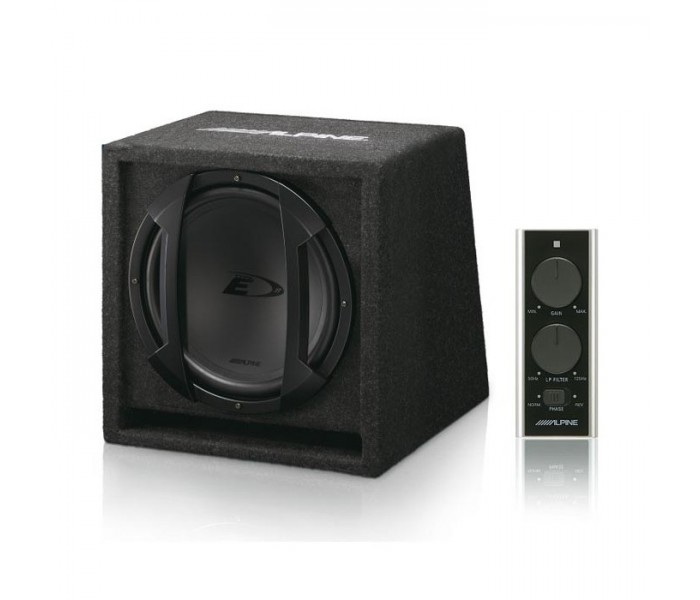 "Alpine SWE-815 300W 8"" Active Subwoofer In Custom Enclosure"