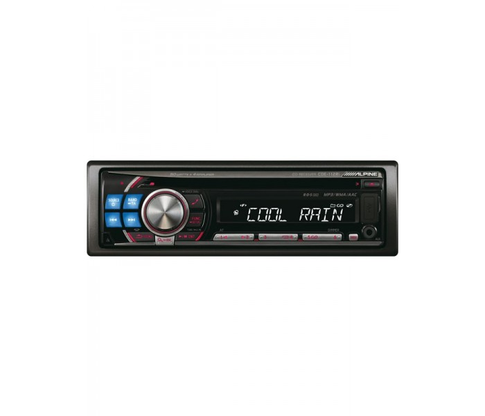 Alpine CDE-112Ri CD/MP3 ipod Head unit