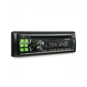 Alpine CDE-123R CD/MP3 ipod/Android  Head unit