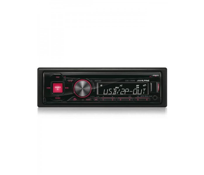 Alpine CDE-170RR CD/MP3 ipod Head unit