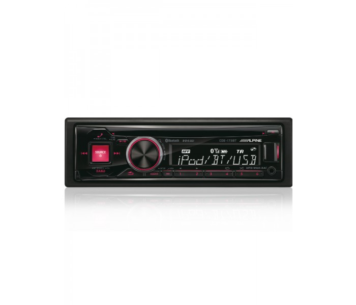 Alpine CDE-173BT CD/DAB Head unit with Bluetooth