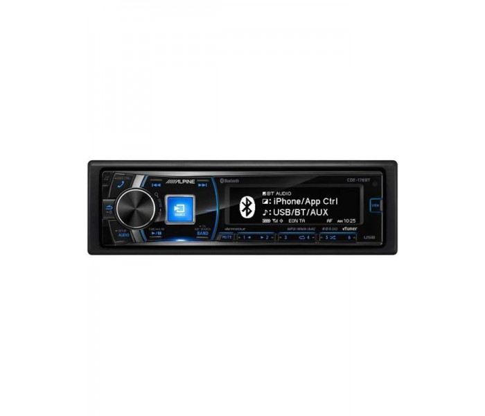 Alpine CDE-178BT CD/MP3 Head unit with Bluetooth