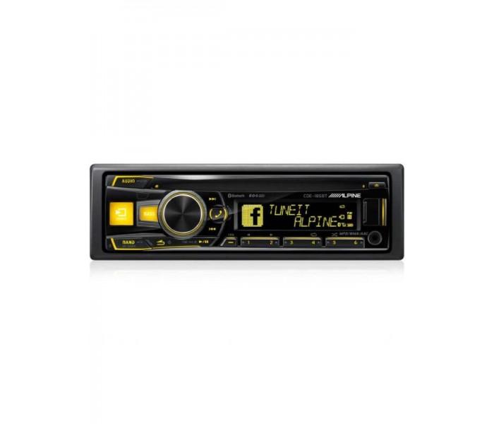 Alpine CDE-185BT CD/MP3 Head unit with Bluetooth