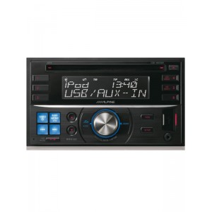 Alpine CDE-W233R CD/MP3 Double Din ipod/Android