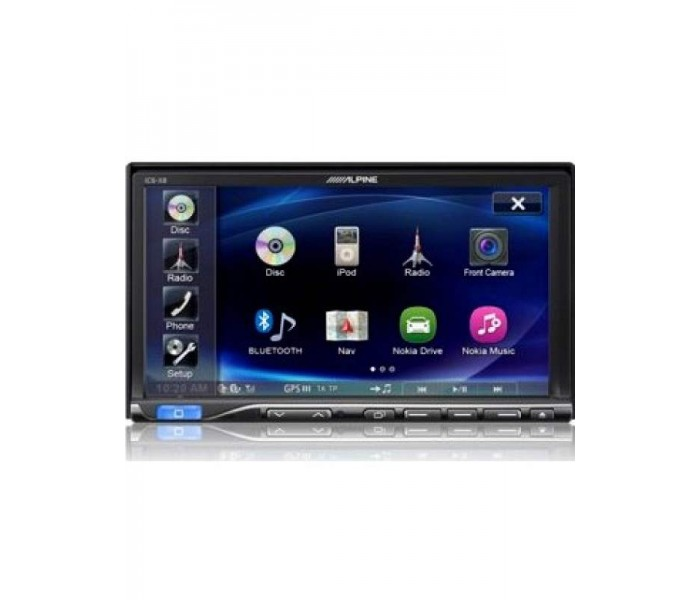 "Alpine ICS-X8 7"" Double Din Multimedia Station"