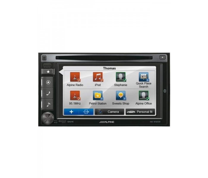 "Alpine INE-W920R 7"" Double Din Multimedia Station"