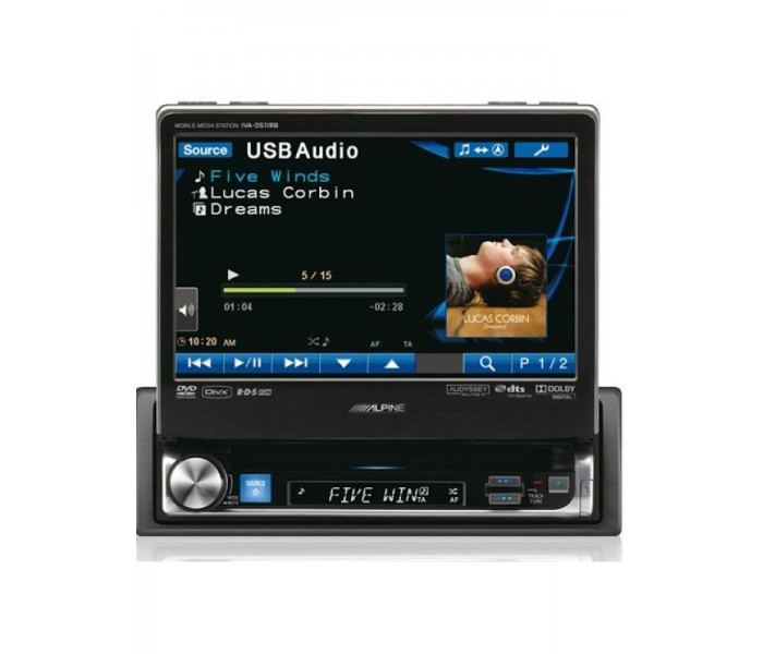 "Alpine IVA-D511RB 7"" Motorized Multimedia Station"