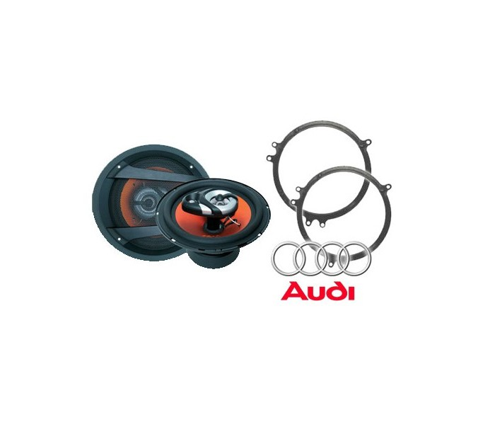 Audi A4 Saloon Juice JS63 Speaker Upgrade Package