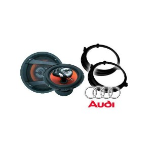 Audi A3 Juice JS63 Speaker Upgrade Package