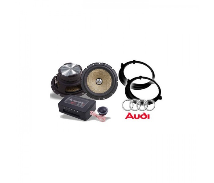 Audi A4 Saloon In Phase XTC6CX Speaker Upgrade Package