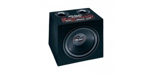 "Audiovox MPXBox112 12"" 800W Subwoofer Enclosure Twin Aero Port Design"