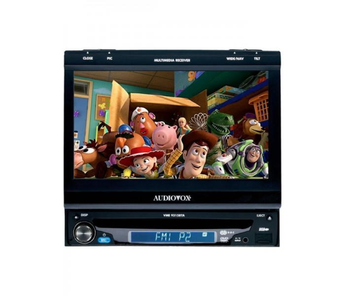 "Audiovox VME-9315T 7"" Motorized Multimedia Center"